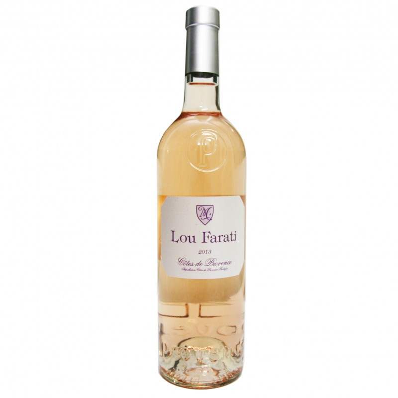 French Rose Wine - Cotes de Provence Lou Farati 2013