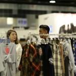 wanderwine blue print fashion week emporium clothes