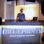 wanderwine kilo blue print fashion week afterparty deejay