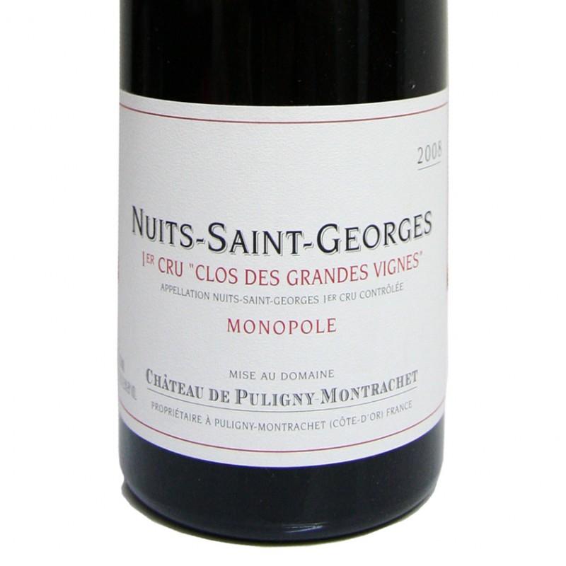Nuit Saint Georges 1er Cru Clos des Grandes Vignes