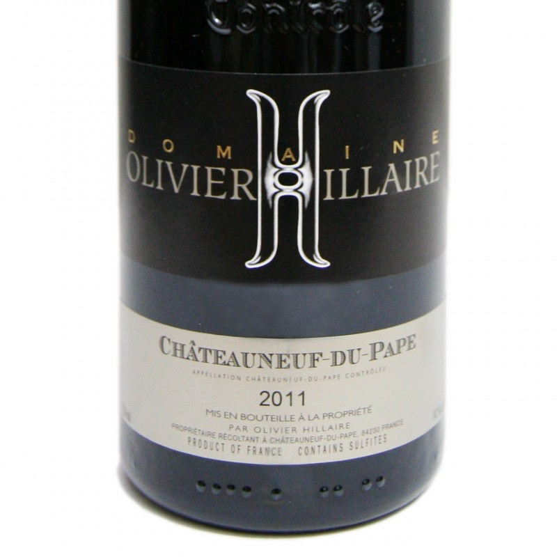 Best Chateauneuf du Pape Olivier Hillaire 2011 RP91