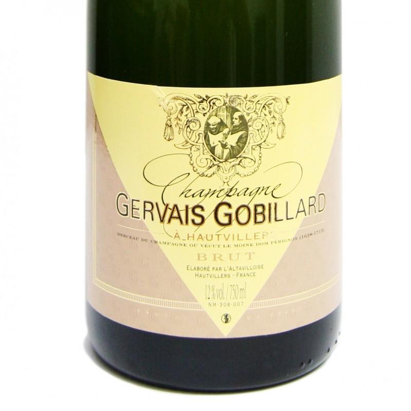 Champagne Gevrais Gobillard Brut NV Dom Perignon Monk